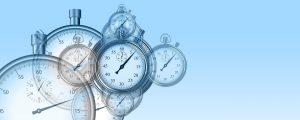 Pia Forkheim Coaching Thema Selbst- und Zeitmanagement, auf dem Foto sind Uhren zu sehen