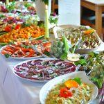 Gutshaus Stellshagen, Salatbüffet, Bio, vegetarisch