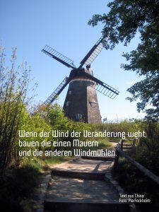 Windmühle, CR Pia Forkheim
