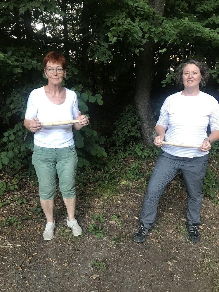 Pia Forkheim und Ulrike Sowa